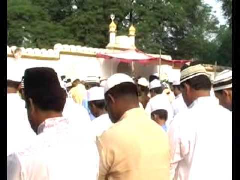 1 Eid Bakrid Namaaz in Masjid Bilaspur  by Muslims