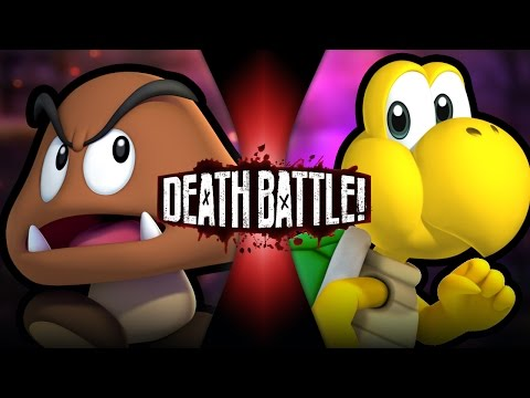 DEATH BATTLE! - Goomba VS Koopa