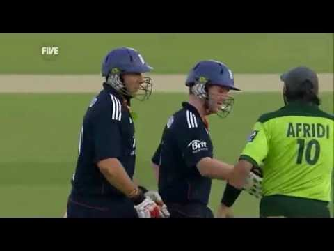 Eoin Morgan 107* Vs Pakistan_5th_Odi_2010_RoseBowl