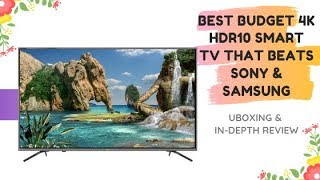 The Best Budget  4k TV That Beats Sony & Samsung