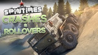 SpinTires 2014 - Crashes & Rollovers