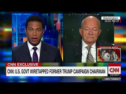 James Clapper admits spying on Trump campaign possible