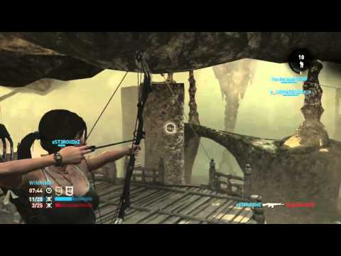 Tomb Raider: Definitive Edition Multiplayer (PS4) Caves Super-bow