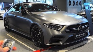 2019 Mercedes AMG CLS 53 - FULL Review Coupe | Start Up Interior Exterior Sound