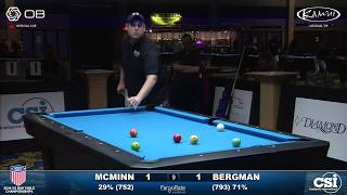 USBTC 9-Ball: Shane McMinn vs Justin Bergman Final