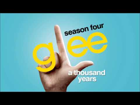 A Thousand Years - Glee [HD Full Studio]