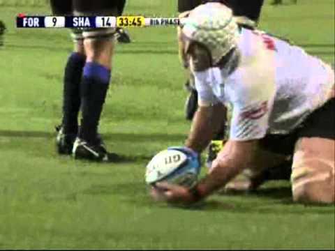 Super Rugby 2011 Highlights - Force vs Sharks Rd. 3 - Super Rugby 2011- Rd. 3- Force vs Sharks