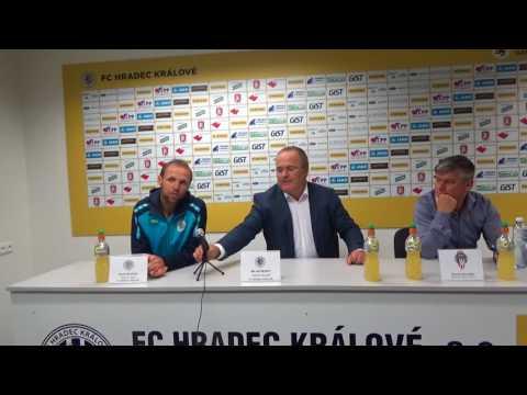 Tisková konference po utkání FC Hradec Králové - FK Viktoria Žižkov 4:1