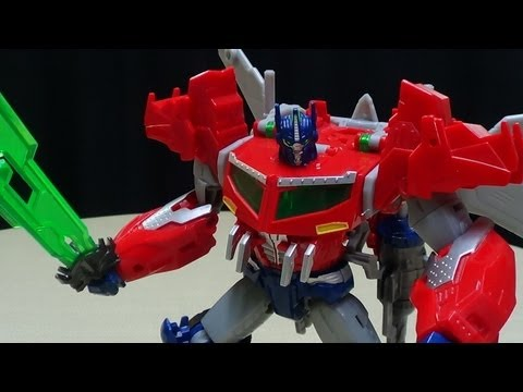 Transformers Prime Beast Hunters Voyager OPTIMUS PRIME: EmGo's Transformers Reviews N' Stuff