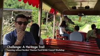 Challenge 2: Heritage trail. Orange Orchard. Tha Ton, Thailand