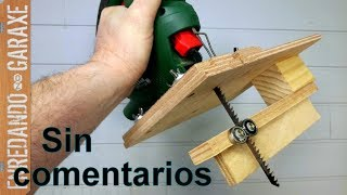 Amazing guide for the cutting blade of the jigsaw