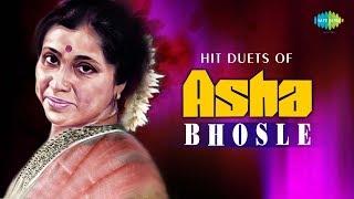 Hit Duets of Asha Bhosle   Bengali Songs Audio Jukebox   Bengali Film Songs