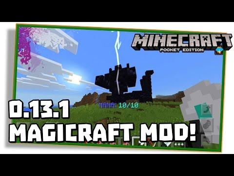 Minecraft PE 0.13.1: MOD DE MAGIA E BOSS! - (Magicraft / Pocket Edition / MCPE)