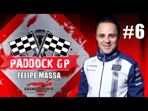 Paddock GP #06 com Felipe Massa