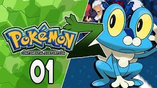 Pokemon Z Continental Distortion Part 1 I CHOOSE YOU! Pokemon Fan Game Gameplay Walkthrough