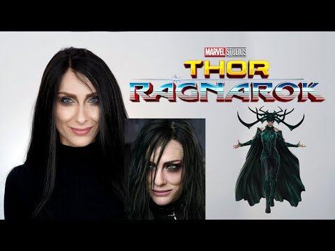 "Thor 3 : Ragnarok (2017) HELA "" Cate Blanchett Thor "" Makyajı | Marvel | Halloween"