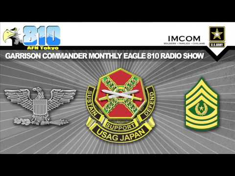 U.S. Army Garrison Japan Commander Monthly Radio Show Feb. 4, 2016