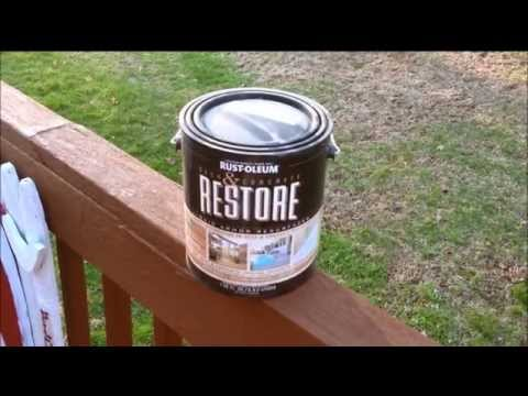 Problems with Rustoleum Restore