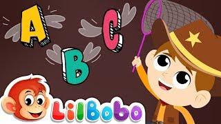 Alphabet Animals - ABC Song | Little BoBo Nursery Rhymes | Flickbox Kids