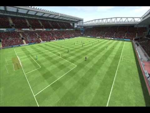 Fifa 13 |PS3| Gameplay Liverpool vs Manchester United