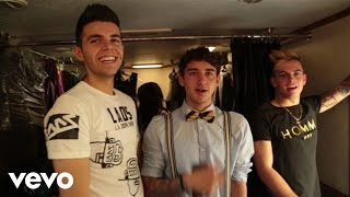 The Janoskians - Real Girls Eat Cake (Behind The Scenes)