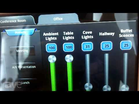 InfoComm 2013: Leviton Shows the Sapphire Touchscreen