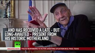 Back to Basics: 100 y.o. Russian artist living in exile since 1921 gifted with Russian passport