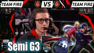 Bjergsen Draven vs PraY Draven | Game 3 Semi Finals 1v1 All-Stars 2015 | NA vs Korea