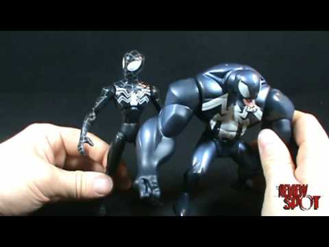 Toy Spot - Spectacular Spiderman Spider charged Venom figure