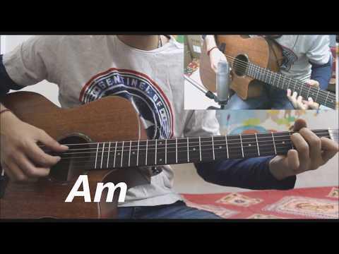 Download Lagu  Bekhayali - Kabir Singh - Shahid Kapoor , Kiara Advani - Hindi Guitar Cover Lesson Chords beginners Mp3 Free