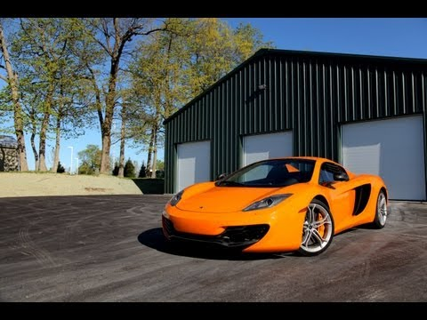 2013 McLaren MP4-12C Review