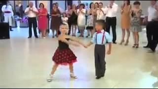 الرقصة التي أبهرت الجميع