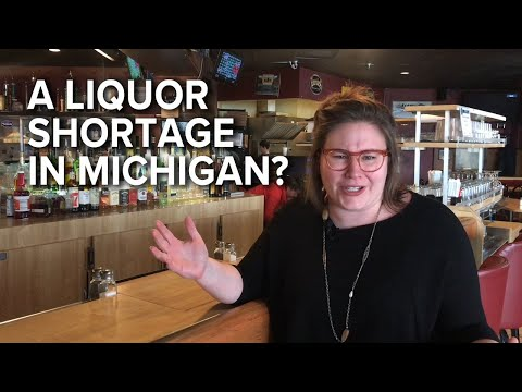 Why is there an Alcohol Shortage in Michigan?