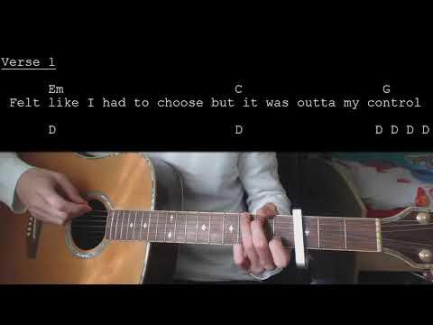 Calum Scott - No Matter What EASY Guitar Tutorial With Chords / Lyrics