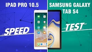 Speedtest iPad Pro vs Samsung Galaxy Tab S4: Quá chênh lệch!