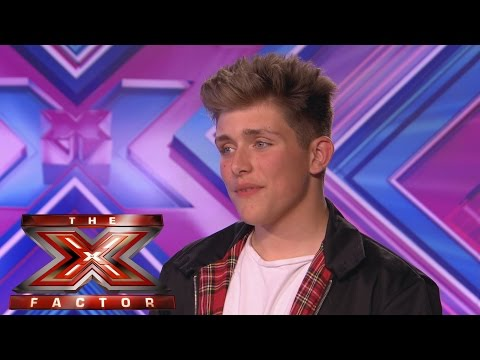 X Factor audition Charlie Jones