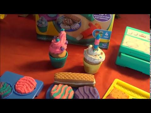 Play Doh Galletas,Pasteles,Cupcakes, Juguetes Para Ninos - Mundo de Juguetes