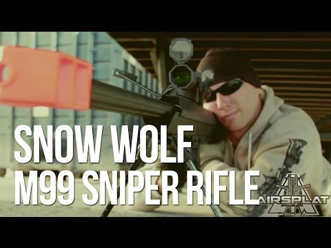 Snow Wolf M99 Airsoft Sniper Gun Rifle - AirSplat On Demand