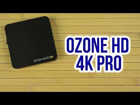 Распаковка OzoneHD 4K Pro  подпис�