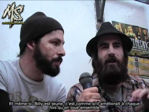 The Dillinger Escape Plan interview @ Hellfest pt.1