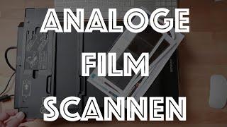 ANALOGE film NEGATIEVEN SCANNEN met Epson V600 Photo flatbed scanner