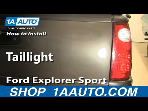 How To Install Replace Taillight Ford Explorer Sport Trac 01-05 1AAuto.com