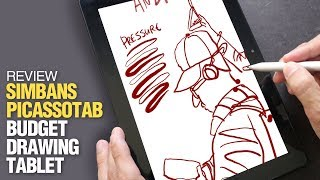 Review: Simbans PicassoTab - Budget Tablet for Digital Sketching