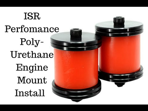 Project Build 240sx S13 ISR Perfomance Poly-Urethane Engine Mount Install