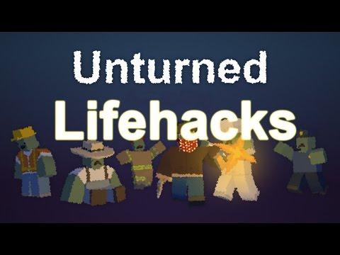 ТОП 5 ЛАЙФХАКОВ В UNTURNED!!![UNTURNED LIFEHACKS]