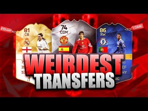 FIFA 16 - WEIRDEST TRANSFERS EVER!! SQUAD OF PLAYERS YOU FORGOT! - FIFA 16 Squadbuilder