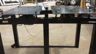 Бизнес идея в гараже. Самодельный вибростол для тротуарной плитки