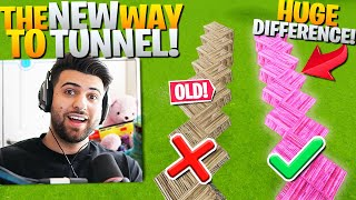 The *NEW* BEST Way To Tunnel Everyone OVERLOOKED! (REALLY SMART!) - Fortnite Battle Royale