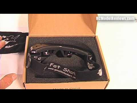 FatShark FPV video glasses (goggles). a quick look