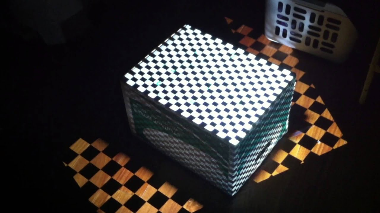 Projection Mapping Cubes Cube Projection Map With